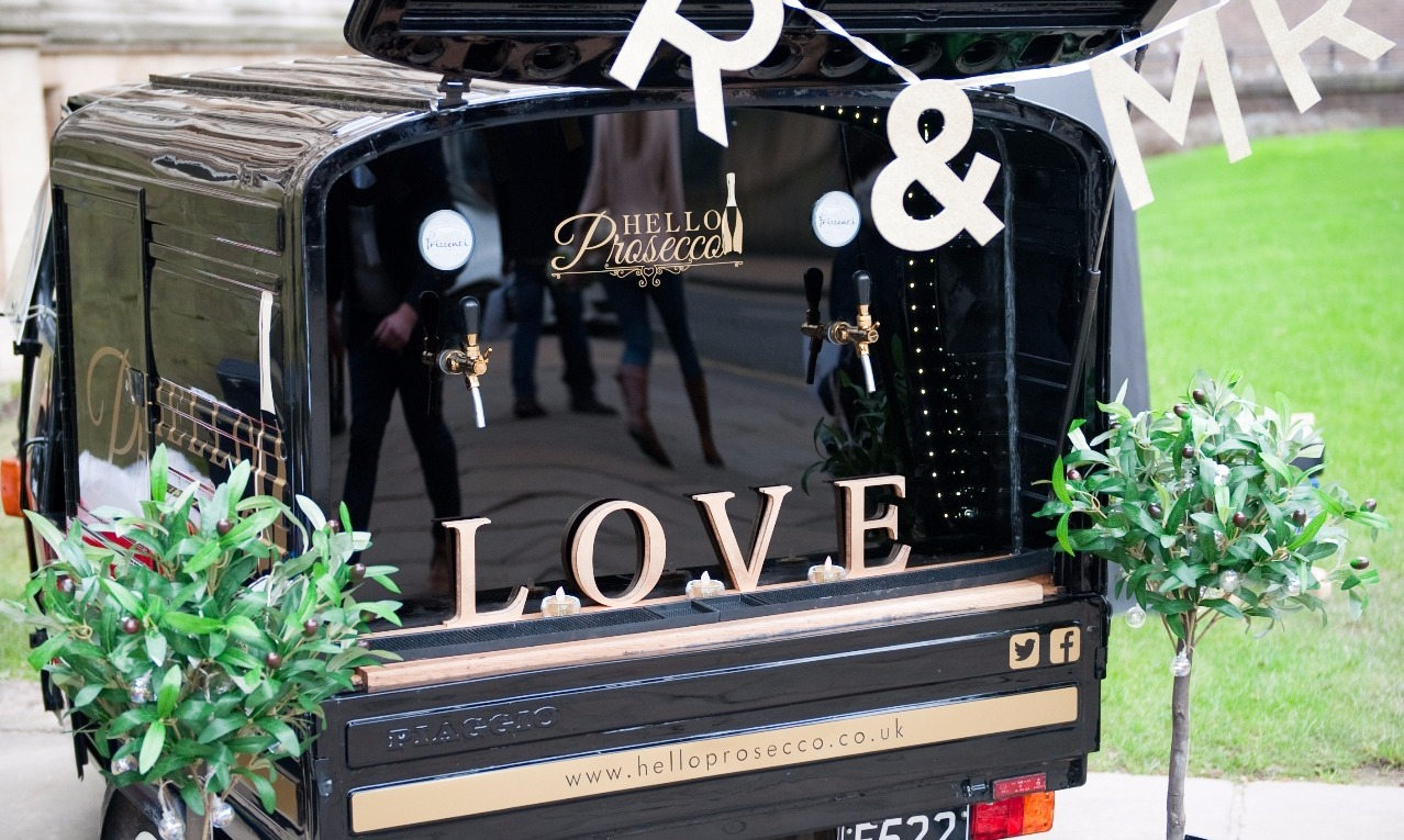 Prosecco van for hire leicestershire6.img